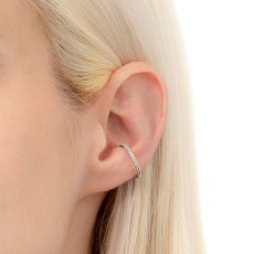 画像4: Hirotaka ヒロタカ Diamond Ear Cuff (WhiteGold){-AIA} (4)
