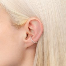 画像5: Hirotaka ヒロタカ Diamond Ear Cuff (WhiteGold){-AIA} (5)