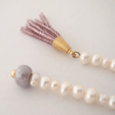 画像3: ADER.bijoux アデルビジュー BLOCK PEARL long asymmetry pierce{-AIA} (3)