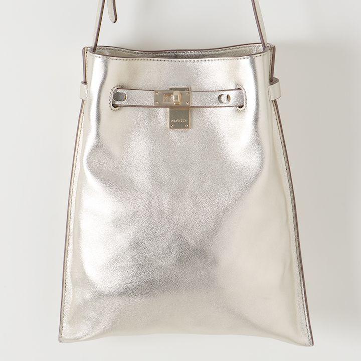画像1: ORSETTO オルセット METALLO ショルダーバッグ{-AIA} (1)