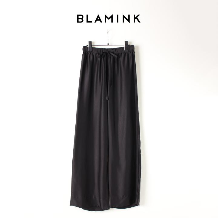 画像1: 【Regular item】BLAMINK ブラミンク シルク インティメイト パンツ{7939-299-0002-BLK-BJS} (1)