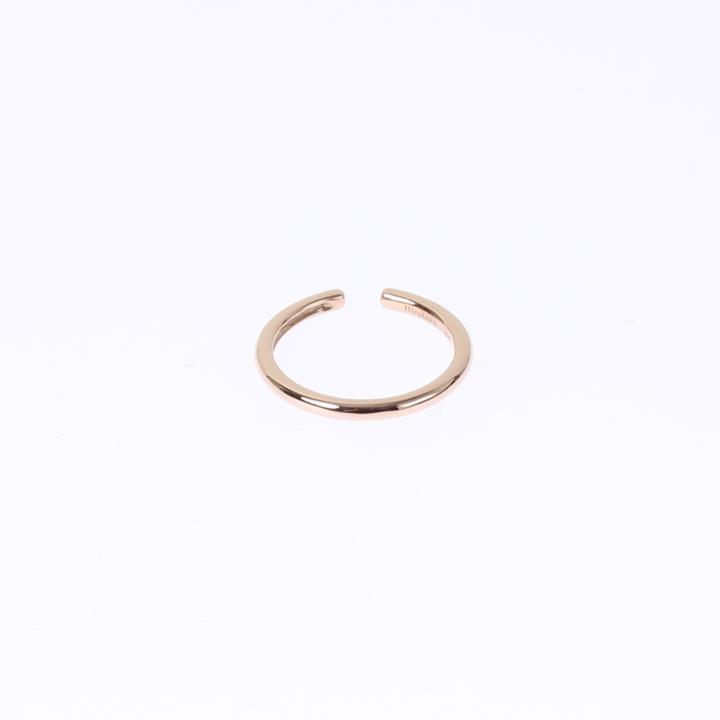 画像1: Hirotaka ヒロタカ Hoop Ear Cuff L(Rose Gold){-AIA} (1)