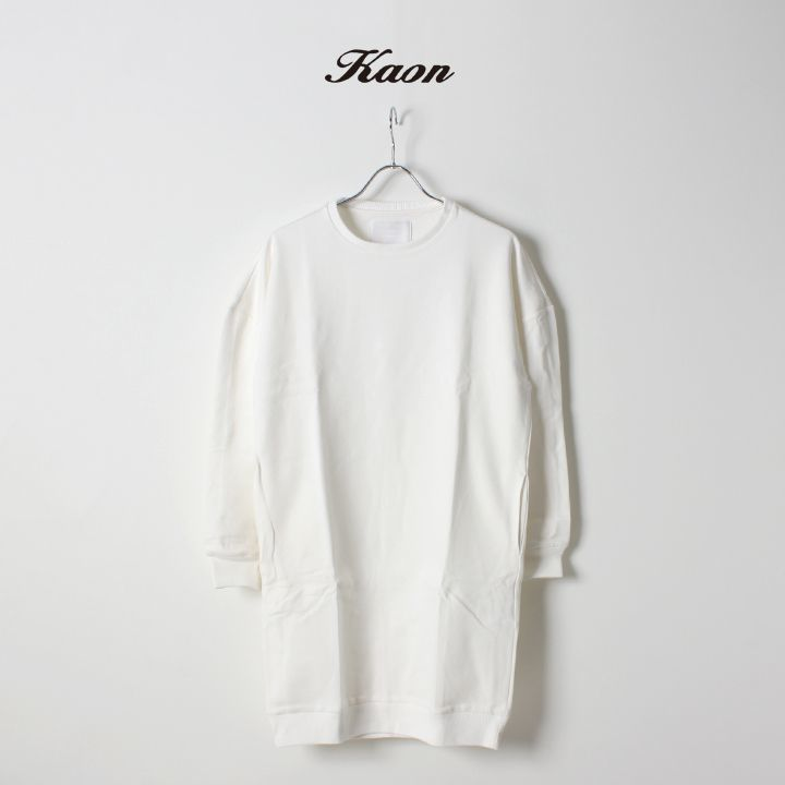 画像1: 【 60%OFF セール|30,800円→12,320円】 Kaon カオン Dumbo Sweat Top 2{KA17-DSWTP2-WHT-AGA} (1)