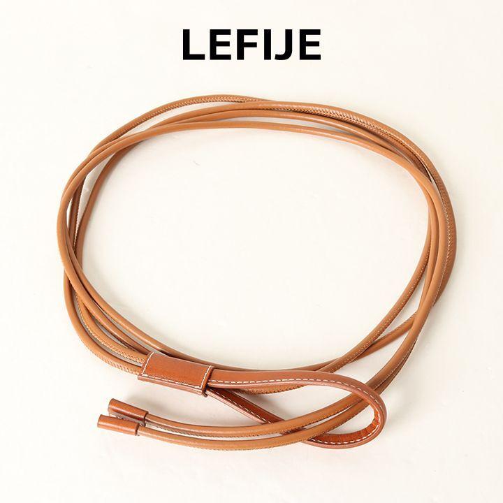 画像1: LEFIJE レフィエ ベルト{-BAS} (1)