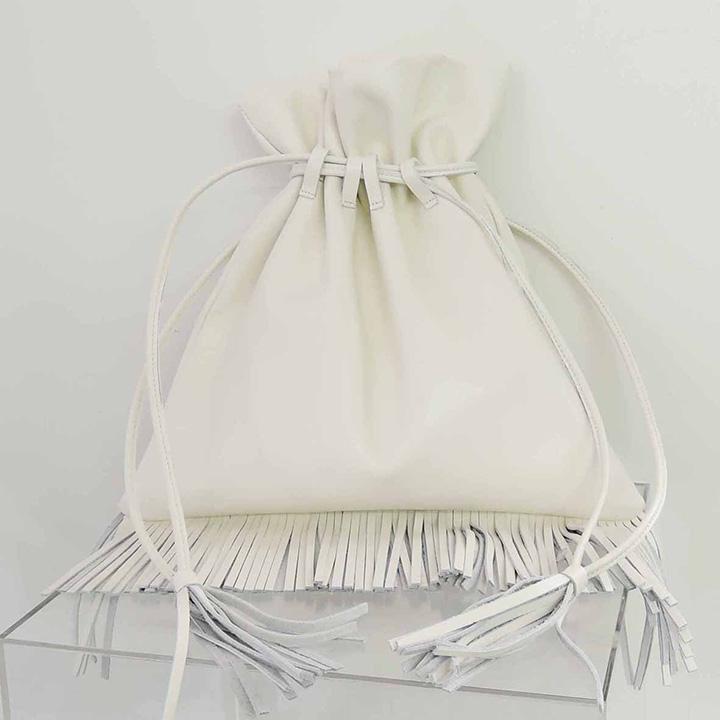 画像1: ADER.bijoux アデルビジュー FRIDA fringe bag{-AHA} (1)
