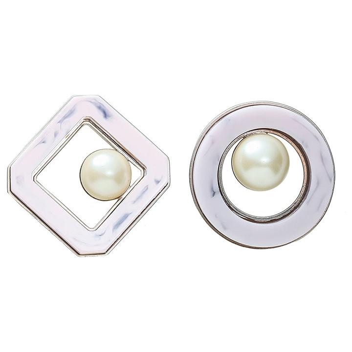 画像1: ADER.bijoux アデルビジュー RETRO pearl pierce{-AHA} (1)